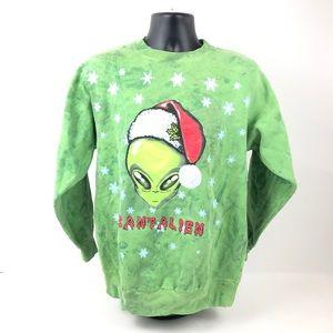 Santa Claus Christmas Crewneck Sweatshirt Vintage
